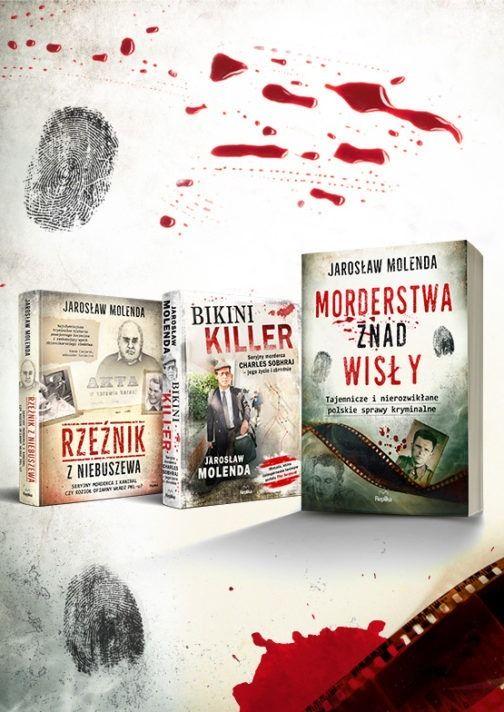 Morderstwa znad Wisły i inne Molenda - okładka www